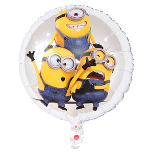 Minion Trio Silver Foil Balloon - 18in - PartyMonster.ae