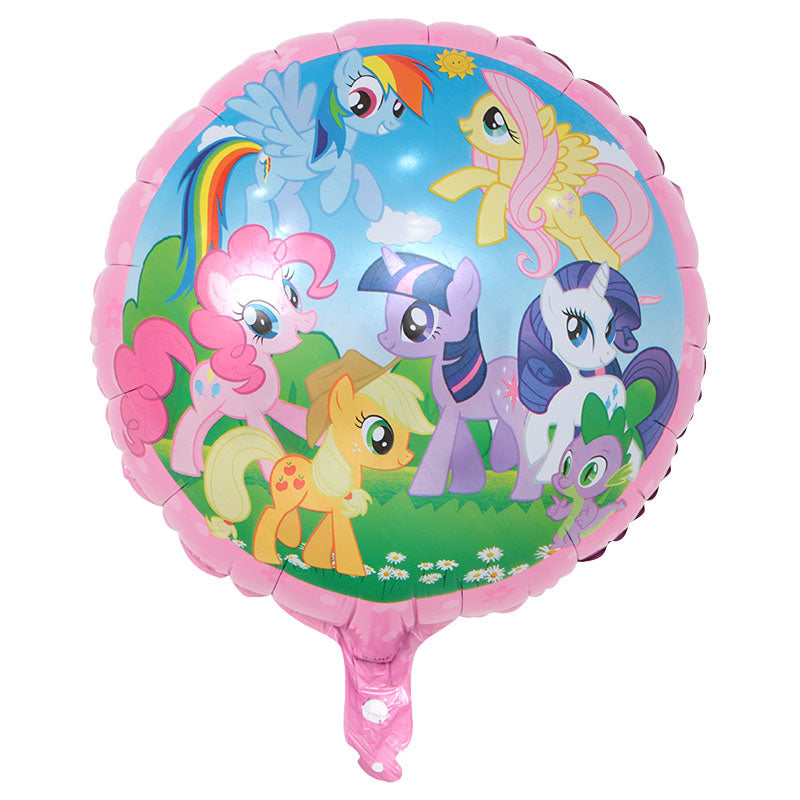 my little pony foil baloon