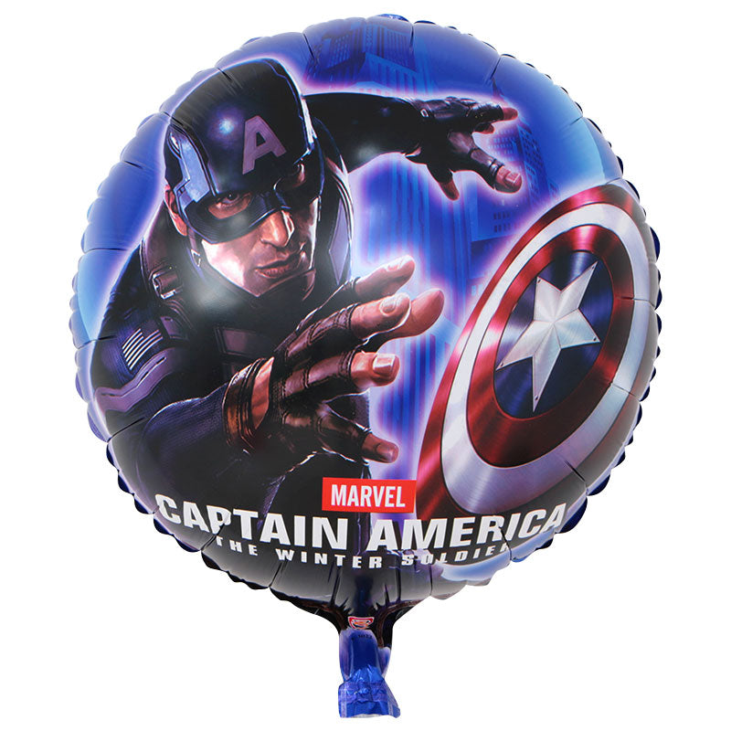 Captain America Foil Balloon - 18in - PartyMonster.ae