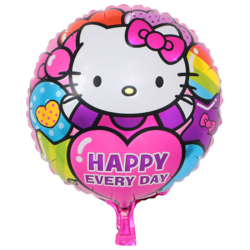 Hello Kitty Happy Everyday Foil Balloon - 18in - PartyMonster.ae