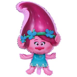 poppy troll pink balloon