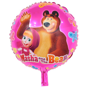 Masha & the Bear Foil Balloon - 18in - PartyMonster.ae
