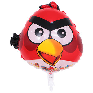 Red Angry Birds Foil Balloon - 22in - PartyMonster.ae