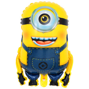 Minion One Eyed Foil Balloon - 23in - PartyMonster.ae