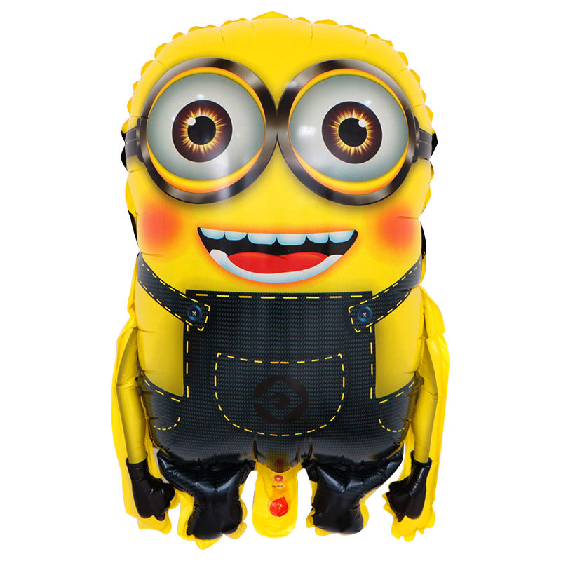 Blushing Minion Foil Balloon - 23in - PartyMonster.ae