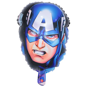 Captain America Face Foil Balloon - 17in - PartyMonster.ae
