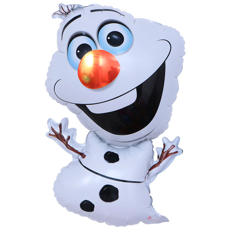 Olaf Frozen Super Shape Foil Balloon - 28in - PartyMonster.ae