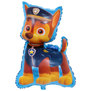 Non Floating, Air Filled Paw Patrol Police Dog Super Shape Foil Balloon   32in - PartyMonster.ae