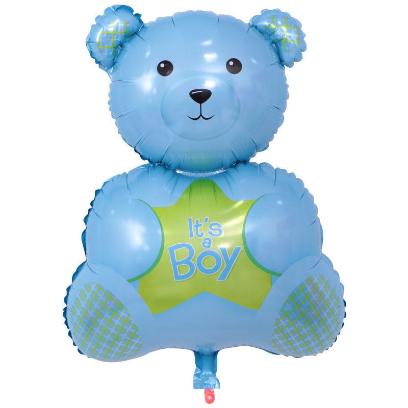 It's A Boy Blue Bear - 28in - PartyMonster.ae