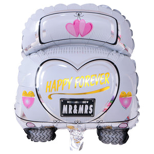 Happy Forever Car - 40in - PartyMonster.ae