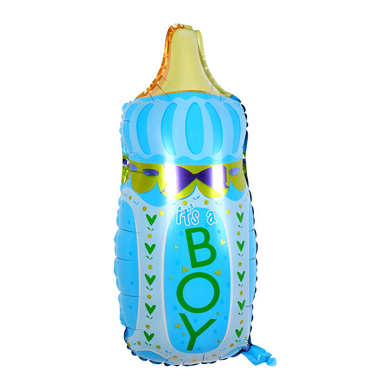 It's A Boy Baby Bottle - 32in - PartyMonster.ae