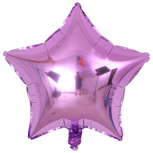 light purple heart shaped balloon