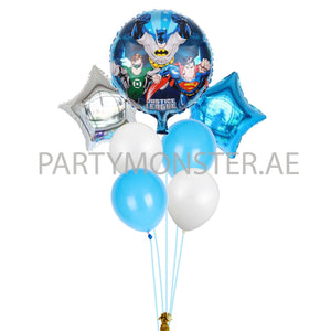 Justice League balloons bouquet - PartyMonster.ae