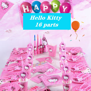 Hello Kitty themed party supplies for sale online in Dubai