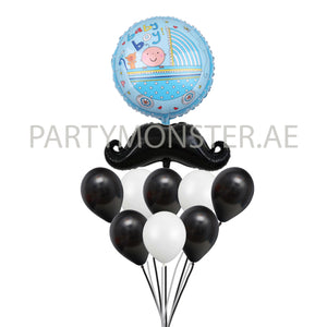 Little man balloons bouquet - PartyMonster.ae