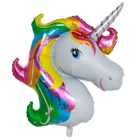 Unicorn Foil Balloon - 50inches - PartyMonster.ae