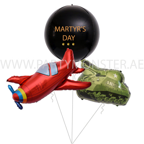 martyr's Day balloons delivery in Dubai