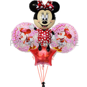 Copy of Minnie Mouse birthday balloon bouquet - PartyMonster.ae