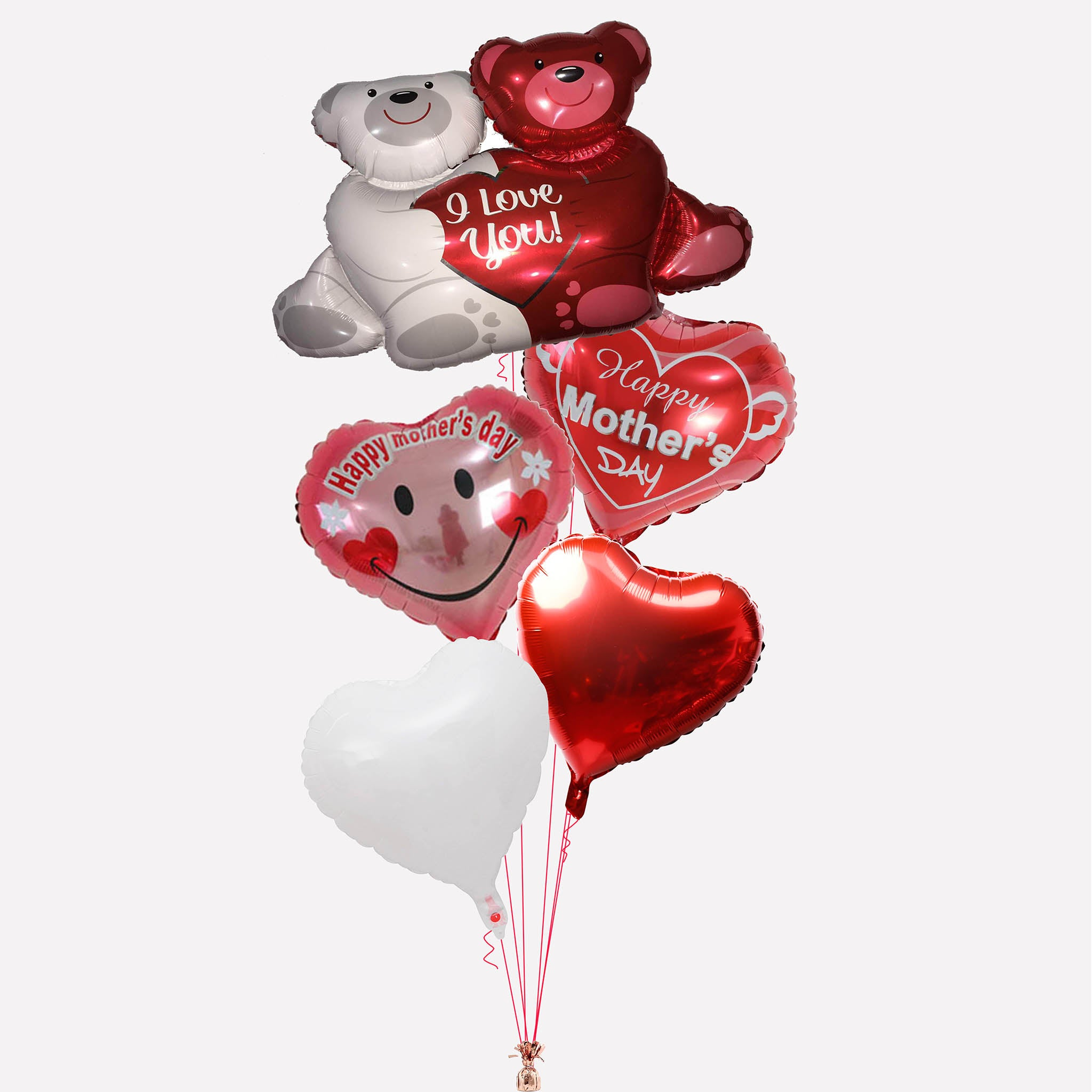 Mother's Day balloons bouquet delivery in Dubai