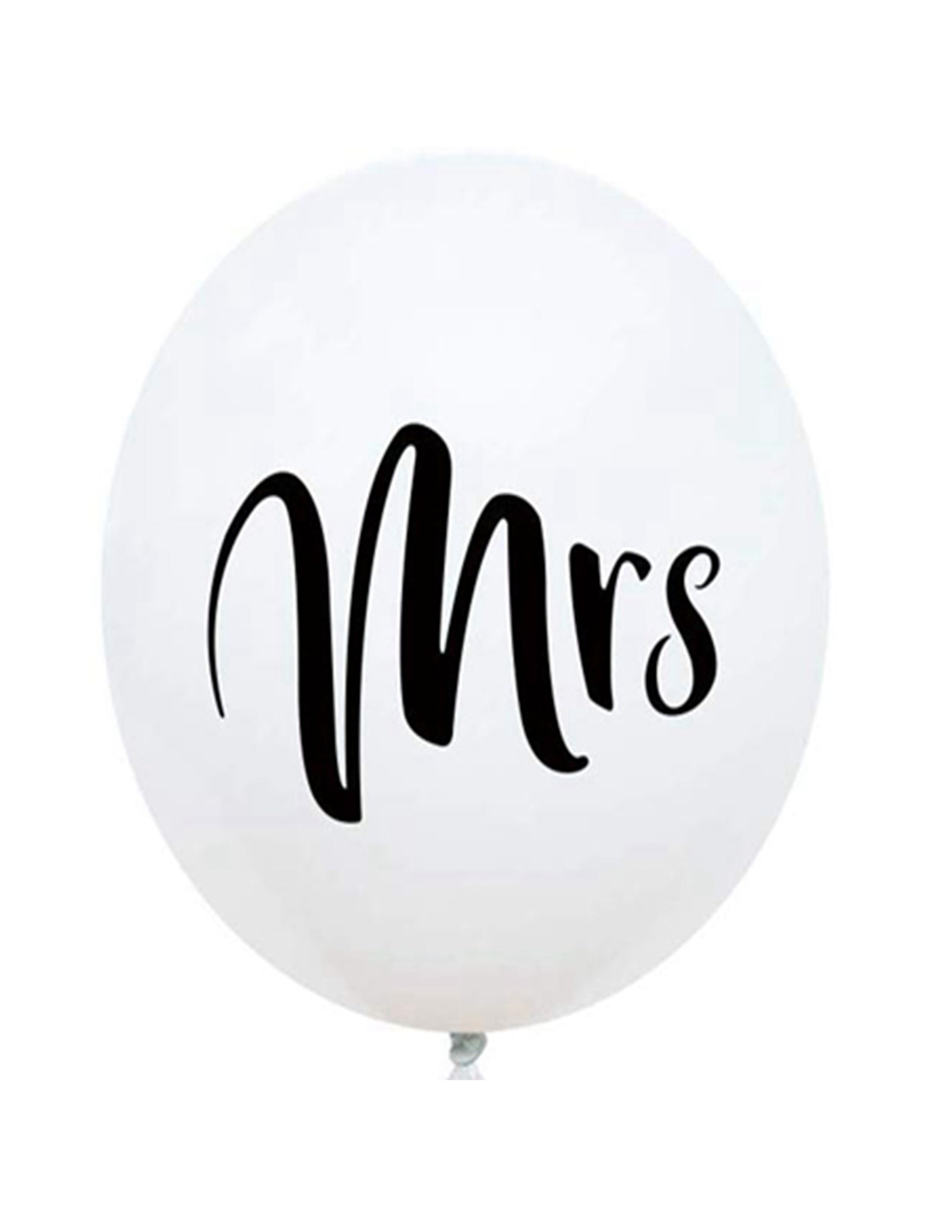 Mrs latex balloon for sale online in Dubai