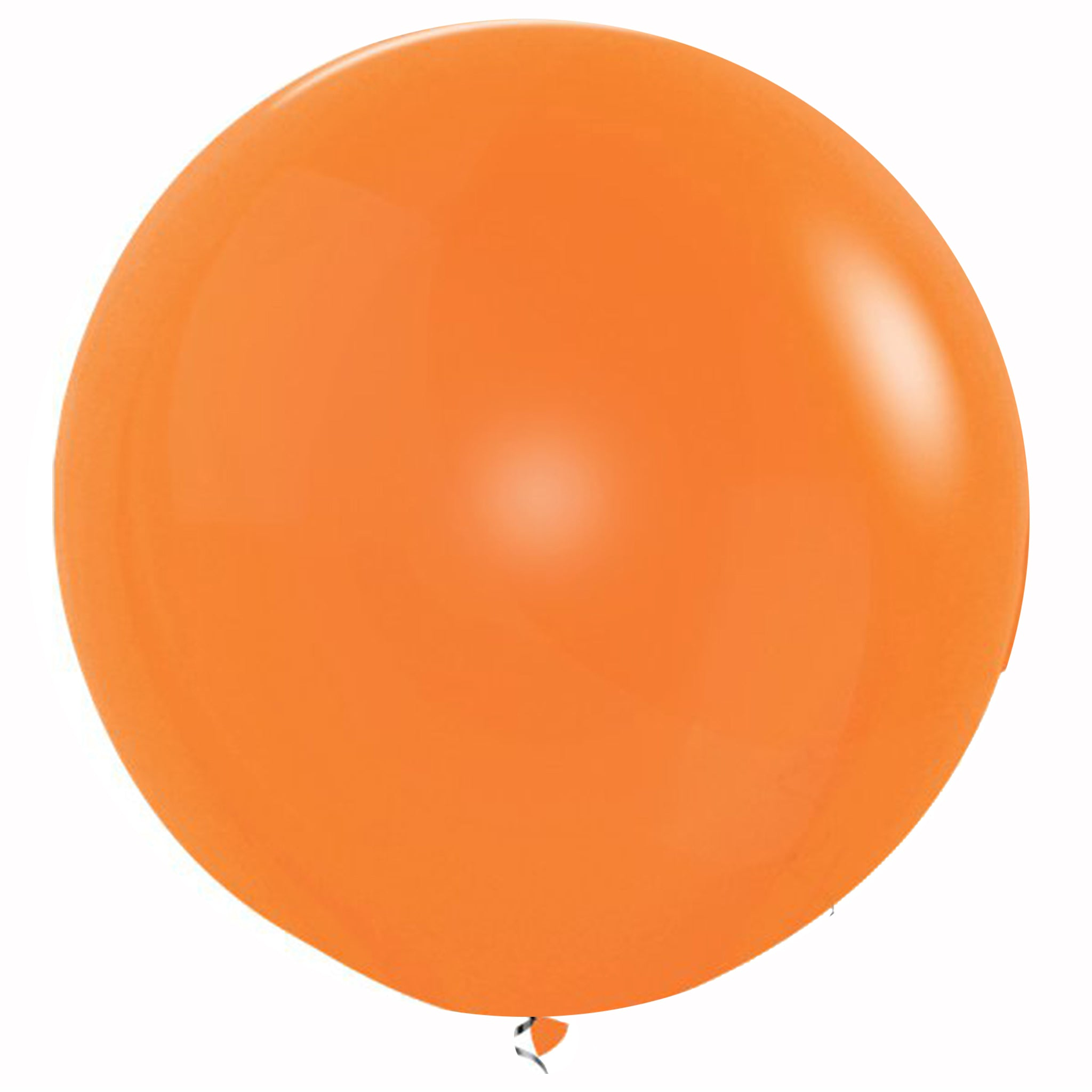 Orange 3 Feet Latex Balloon delivery all over Dubai