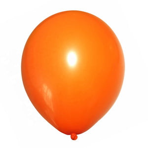 Orange latex balloon online delivery in Dubai