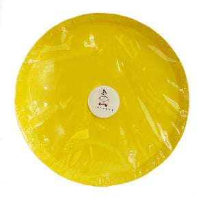 Pastel Yellow paper plates for sale in Dubai