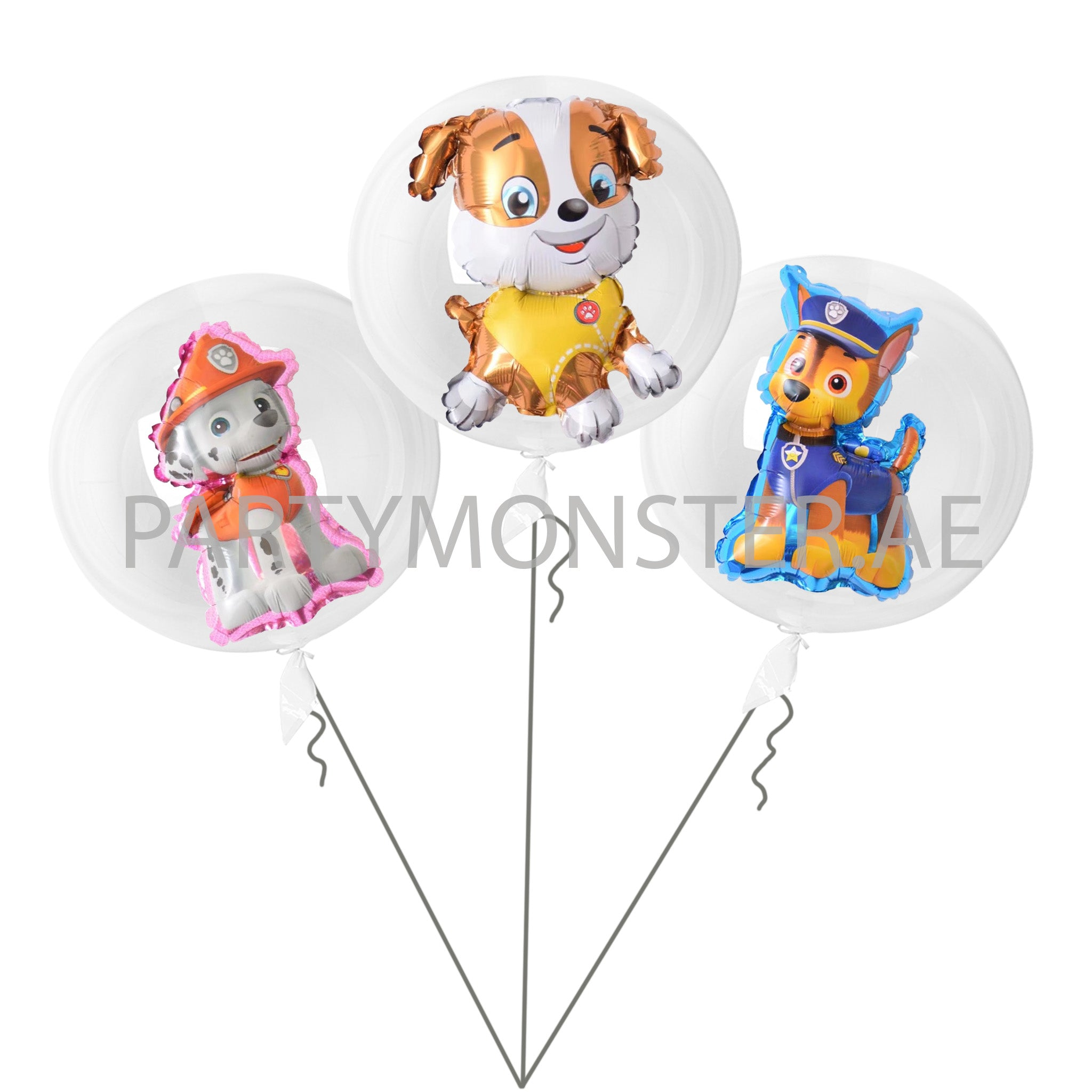 Paw Patrol balloons Bouquet for sale online in Dubai