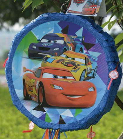 Pinata unfilled Cars theme - PartyMonster.ae