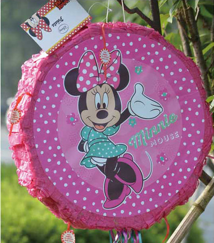 Pinata unfilled Minnie Mouse theme - PartyMonster.ae