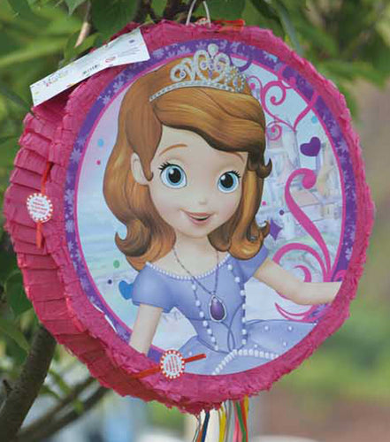 Pinata unfilled Sofia princess theme - PartyMonster.ae