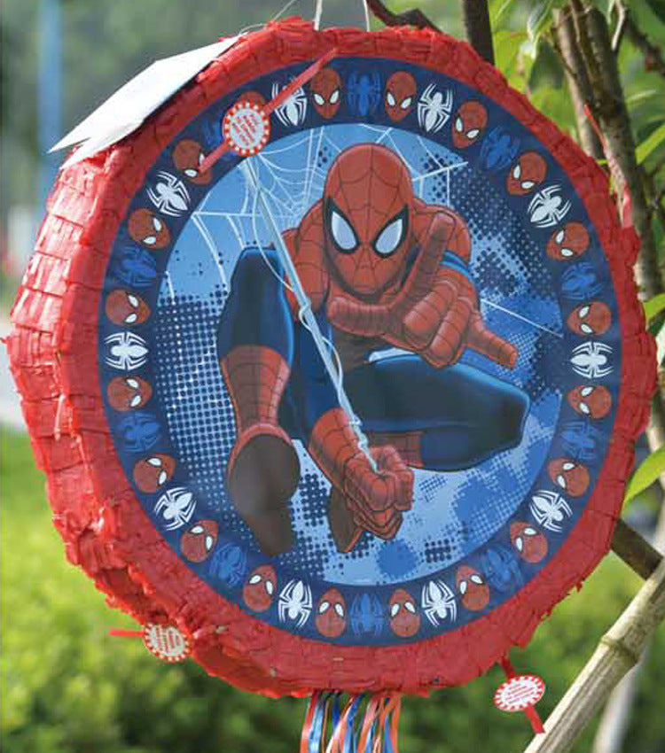 Pinata unfilled Spiderman theme - PartyMonster.ae