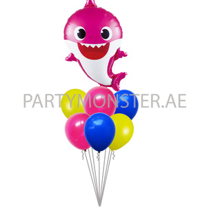 pink baby shark balloons for sale online iin Dubai