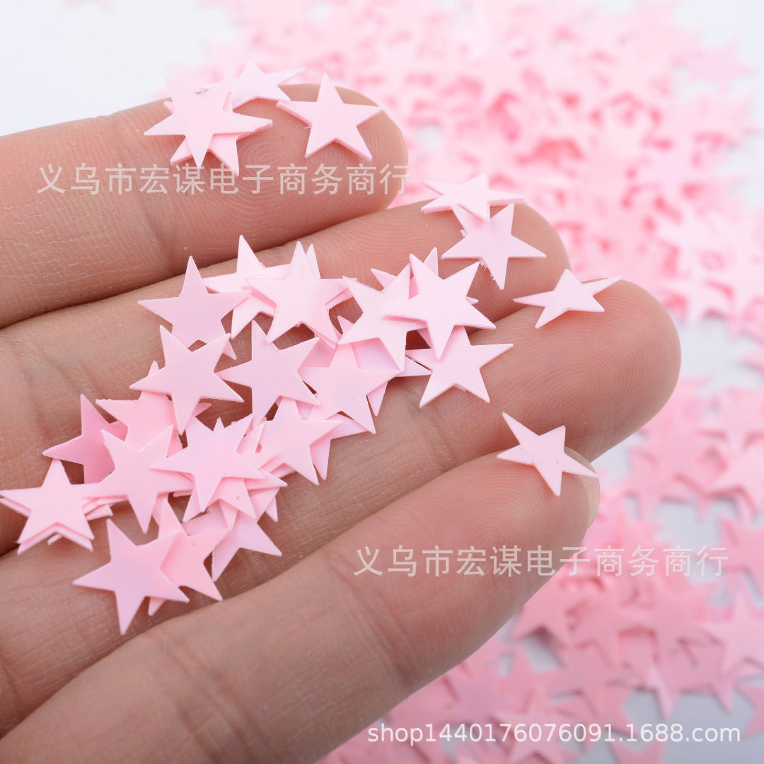 Baby Pink Star Confetti - PartyMonster.ae