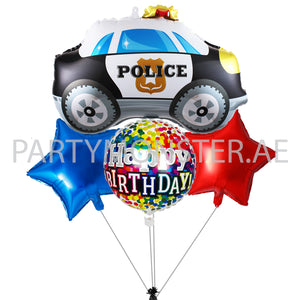 police themed balloons and party supplies for sale in Dubai