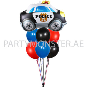 police themed balloons bouquet for sale online in Dubai