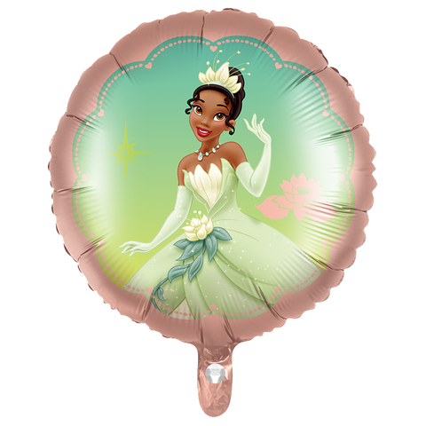 Princess Tiana themed foil balloon - 18 inches