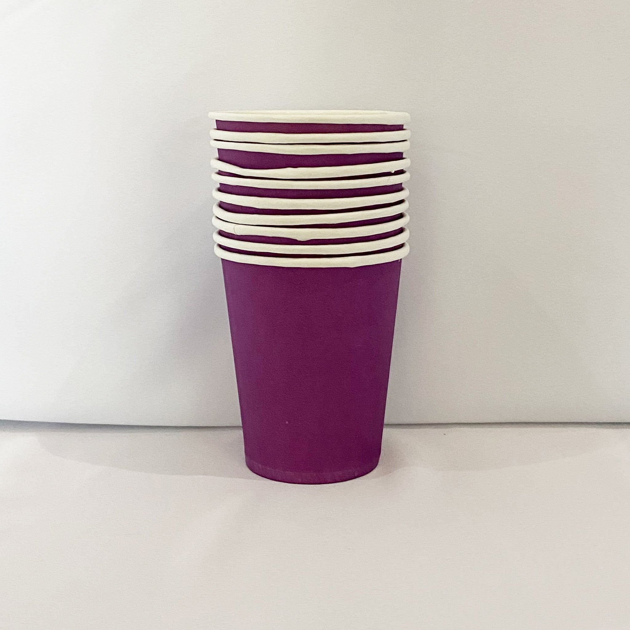 Purple Paper Cups for sale in Dubai