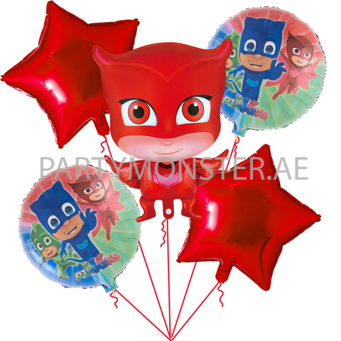 Owlette Pj Masks foil balloons for sale online in Dubai