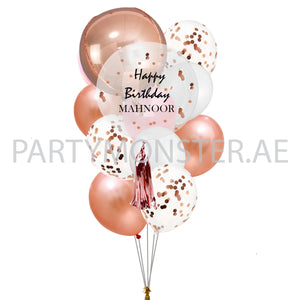 Birthday customised balloons for sale online in Dubai
