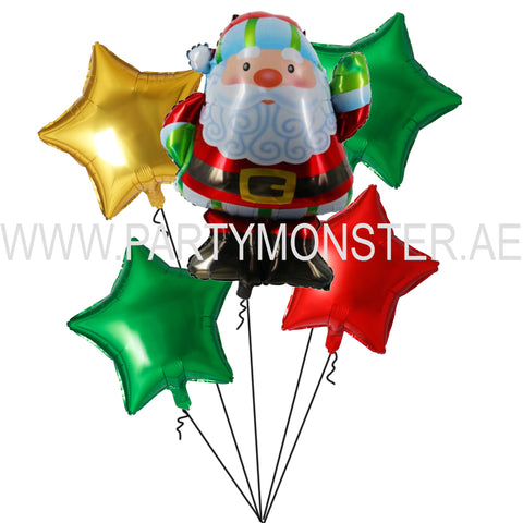 Santa Claus Balloon Bouquet