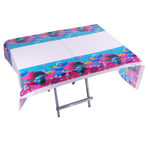 The Smurfs themed table cover - PartyMonster.ae