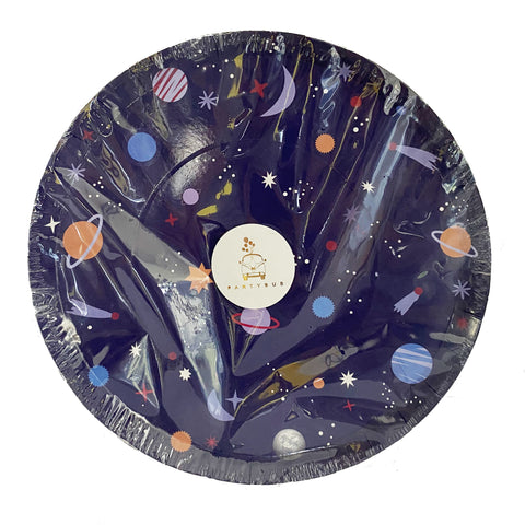Universe Space Paper Plates for sale in Dubai