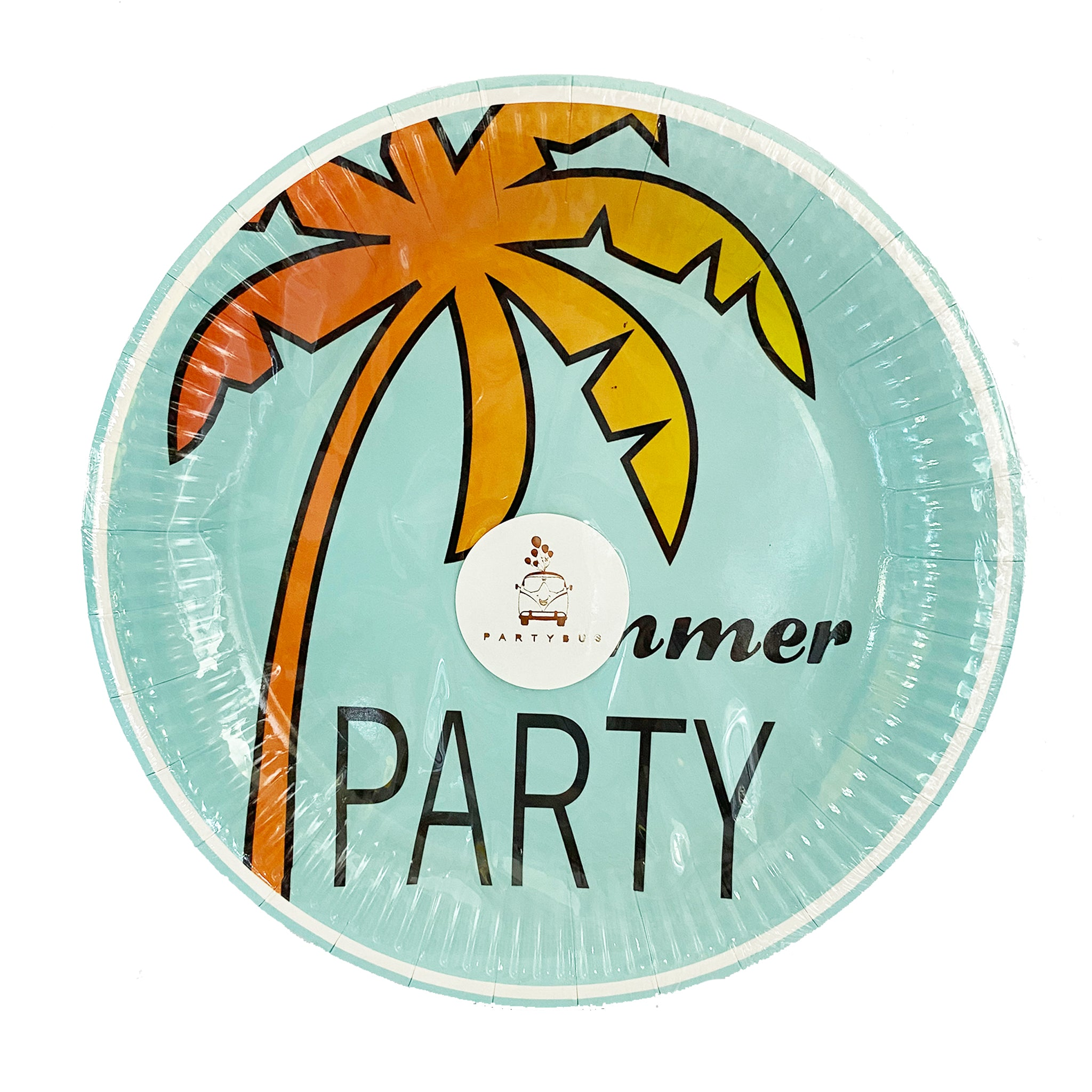 Summer Party paper plates for sale in Dubai