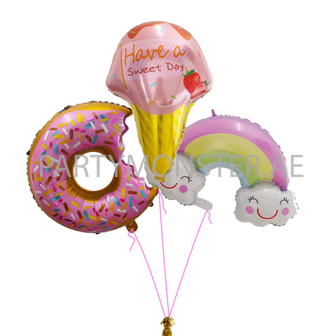 Sweet surprises balloons bouquet - PartyMonster.ae