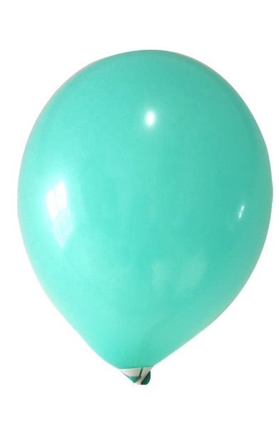 Teal latex balloons for sale online delivery in Dubai