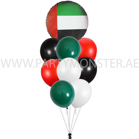 UAE National day balloons delivery in Dubai