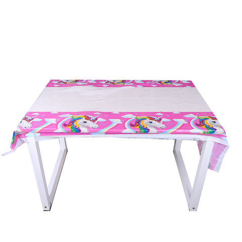 Unicorn table cover - PartyMonster.ae