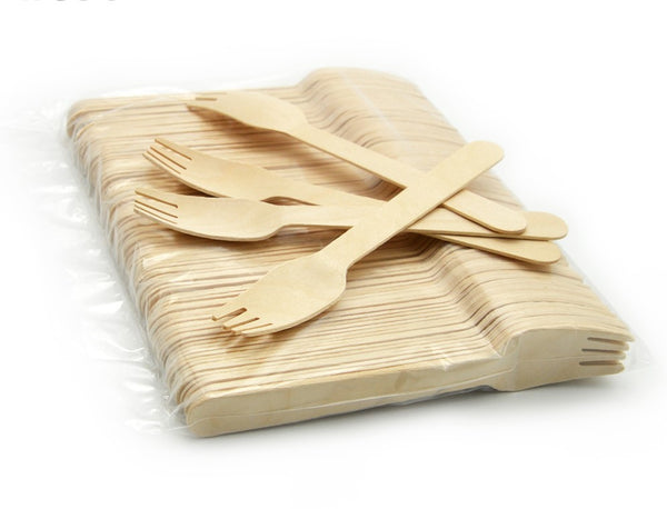 Disposable wooden forks for sale online in Dubai