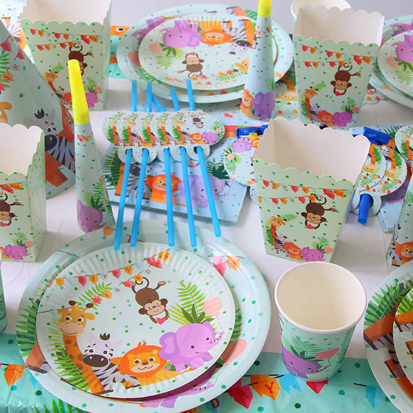animals themed party supplies